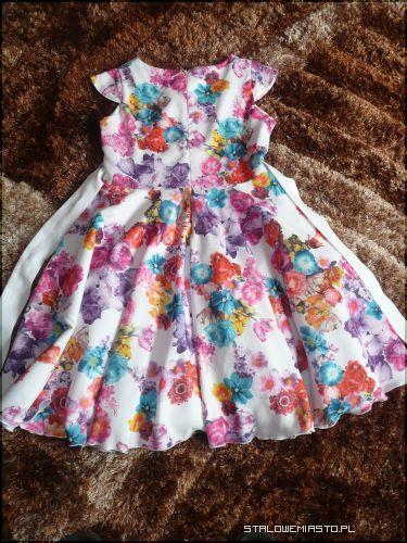 Ogłoszenia Ubrania śliczna Sukienka Dla Dziewczynki R152 Na 10