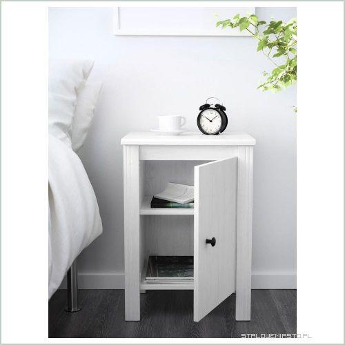 Ogłoszenia Meble łóżko Ikea Brusali 140x2002 Stoliki Nocne