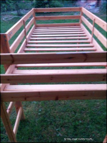 Ogłoszenia Meble łóżko Drewniane Pietrowe