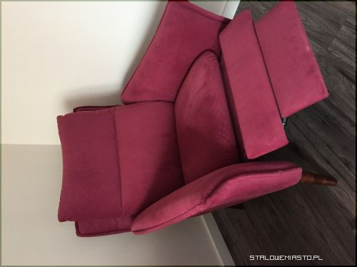 Ogłoszenia Meble Sofa Trzyosobowa I Fotel Z Rozkładanym Podnóżkiem
