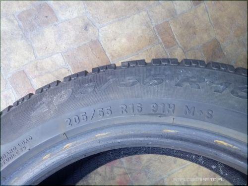 Ogłoszenia Opony I Felgi Opony Zimowe 20555r16 Pirelli 4 Sztuki